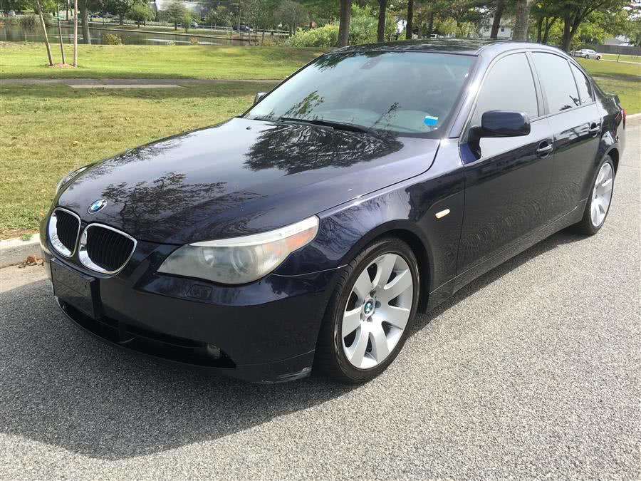 Used 2005 BMW 5 Series in Baldwin, New York | Carmoney Auto Sales. Baldwin, New York