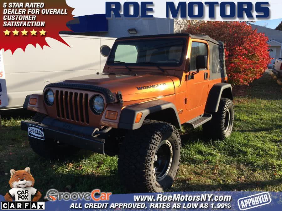 Used 2002 Jeep Wrangler in Shirley, New York | Roe Motors Ltd. Shirley, New York