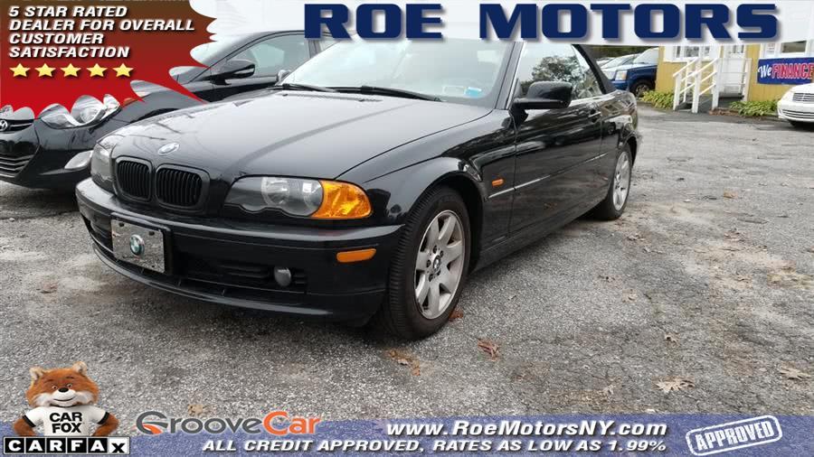 Used BMW 3 Series 325Ci 2dr Convertible 2001 | Roe Motors Ltd. Shirley, New York