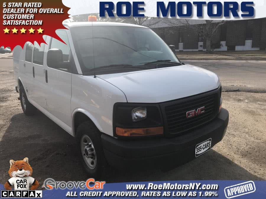 Used 2015 GMC Savana Cargo Van in Shirley, New York | Roe Motors Ltd. Shirley, New York