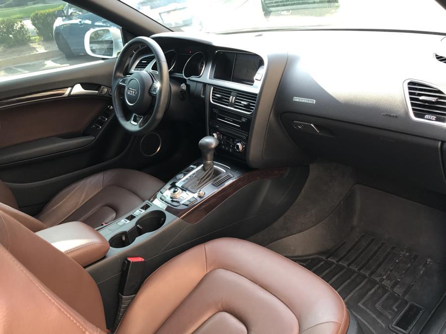 Used Audi A5 2dr Cabriolet Auto quattro 2.0T Premium Plus 2013 | Evolving Motorsports. Bayshore, New York