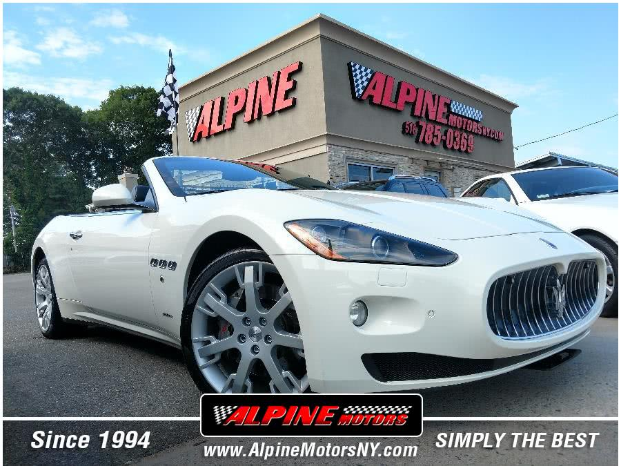 Used Maserati GranTurismo Convertible 2dr Conv GranTurismo 2012 | Alpine Motors Inc. Wantagh, New York