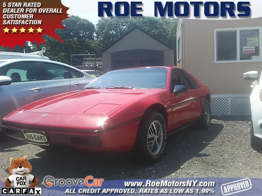 Used Pontiac Fiero 2dr Coupe SE Sport 4-Spd 1984 | Roe Motors Ltd. Shirley, New York
