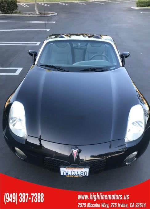 Used Pontiac Solstice Convertible-90 DAYS WARRANTY* 2006 | High Line Motors LLC. Irvine, California