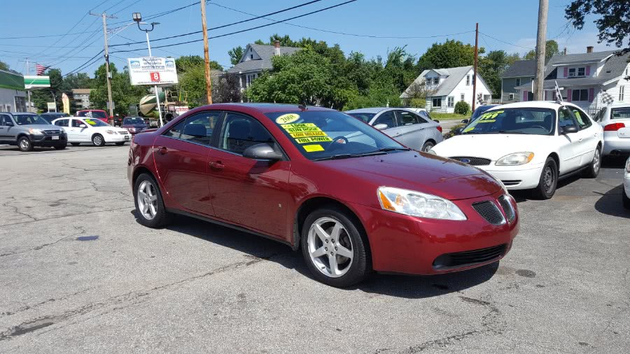 Used Pontiac G6 4dr Sdn 2008   Rally Motor Sports. Worcester, Massachusetts