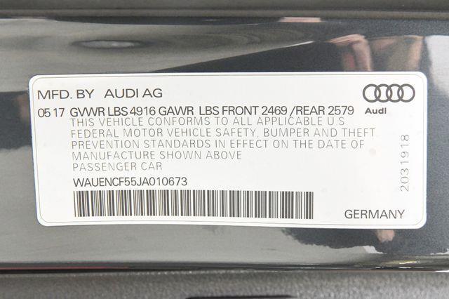 2018 Audi A5 Sportback Premium Plus S-Line photo