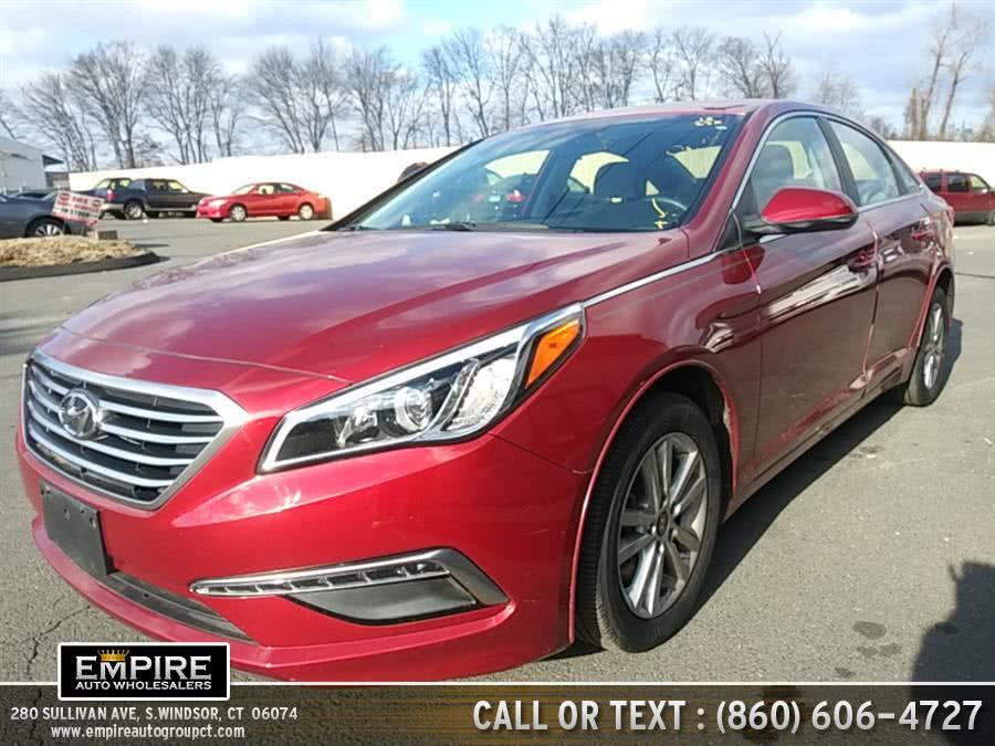 Used 2015 Hyundai Sonata in S.Windsor, Connecticut | Empire Auto Wholesalers. S.Windsor, Connecticut