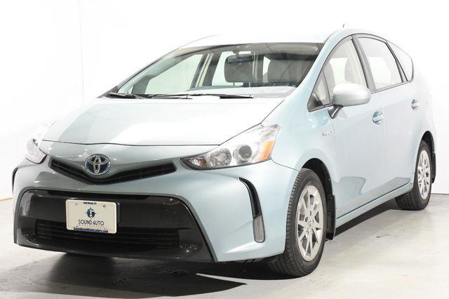 The 2015 Toyota Prius v Three photos