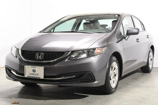 The 2014 Honda Civic LX photos