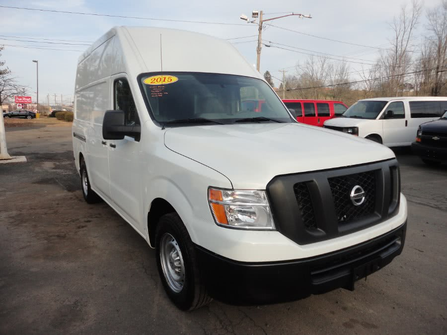 Used Nissan NV High Roof 2500 V6 S 2015 | International Motorcars llc. Berlin, Connecticut