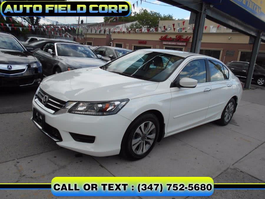 Used Honda Accord Sedan 4dr I4 CVT LX 2014 | Auto Field Corp. Jamaica, New York