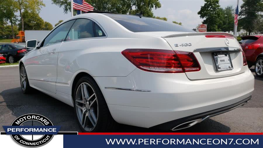 Used Mercedes-Benz E-Class Design Diamond 2dr Cpe E 400 4MATIC 2015 | Performance Motor Cars. Wilton, Connecticut