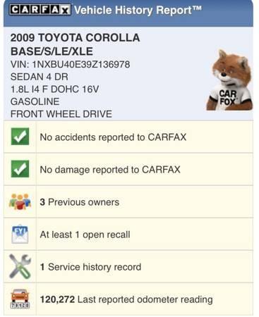 Used Toyota Corolla 4dr Sdn Man 2009 | Carmir. Orange, California