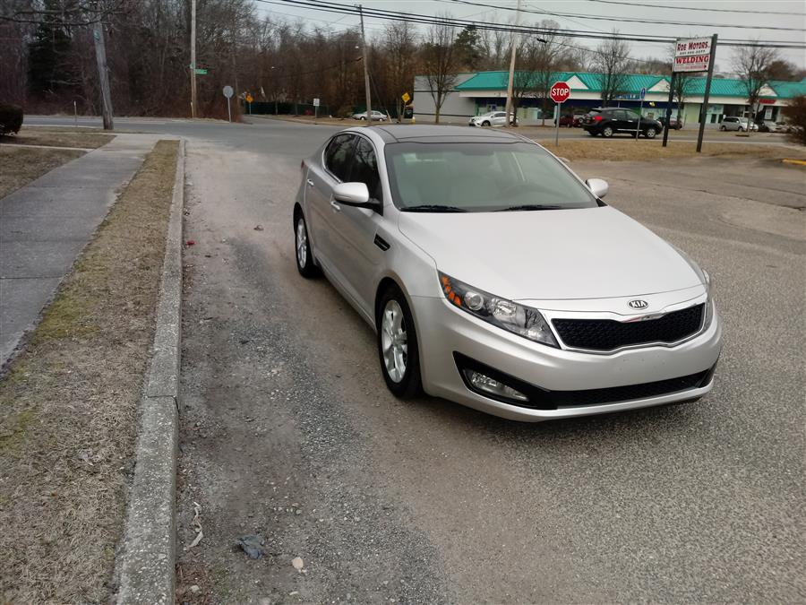Used Kia Optima 4dr Sdn 2.4L Auto EX 2012 | Roe Motors Ltd. Shirley, New York