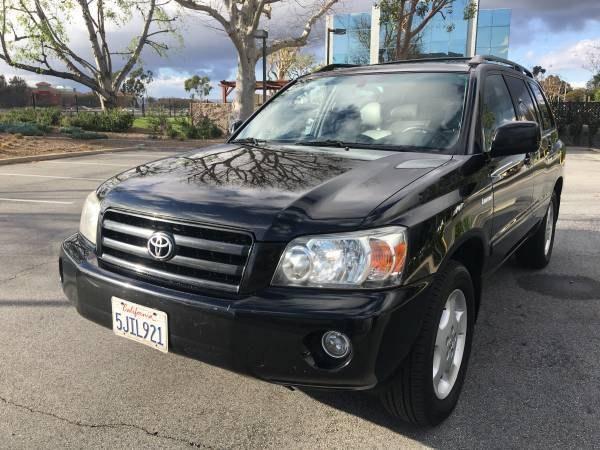 Used Toyota Highlander 4dr V6 Limited w/3rd Row 2004   Carmir. Orange, California