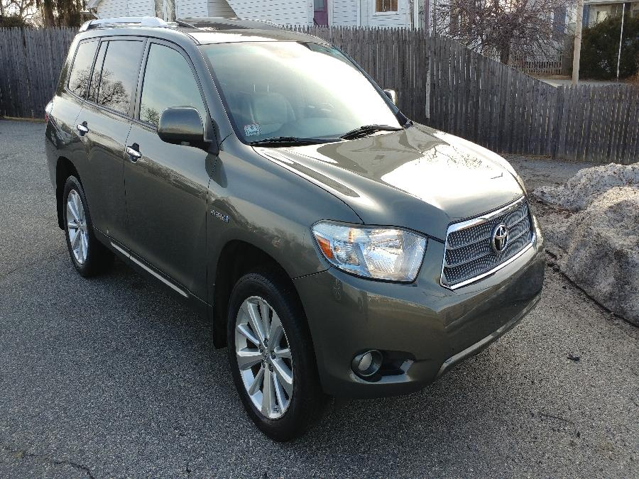 Used Toyota Highlander Hybrid 4WD 4dr Limited w/3rd Row (Natl) 2009 | Matts Auto Mall LLC. Chicopee, Massachusetts