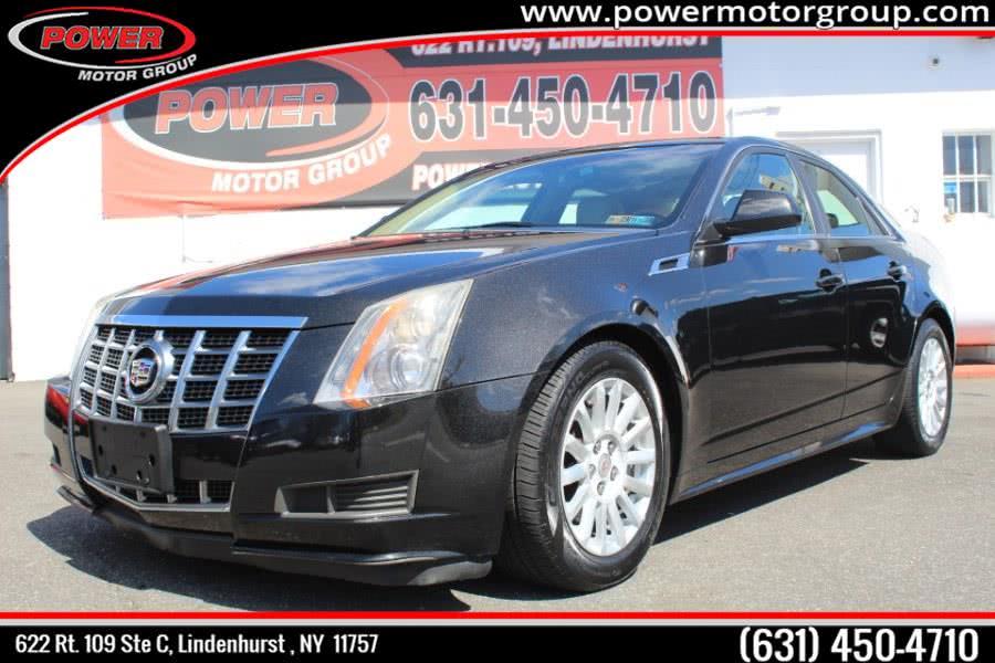 Used Cadillac CTS Sedan 4dr Sdn 3.0L Luxury RWD 2012 | Power Motor Group. Lindenhurst , New York