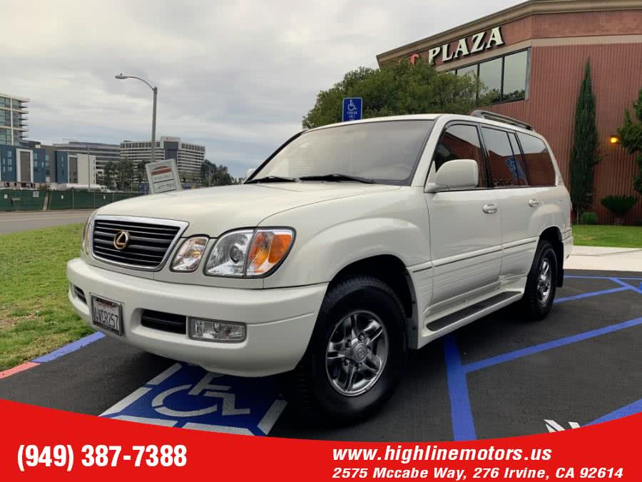 Used 2002 Lexus LX 470 in Irvine, California | High Line Motors LLC. Irvine, California