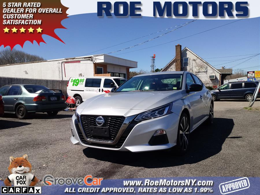 Used Nissan Altima 2.5 SR Sedan 2019 | Roe Motors Ltd. Shirley, New York