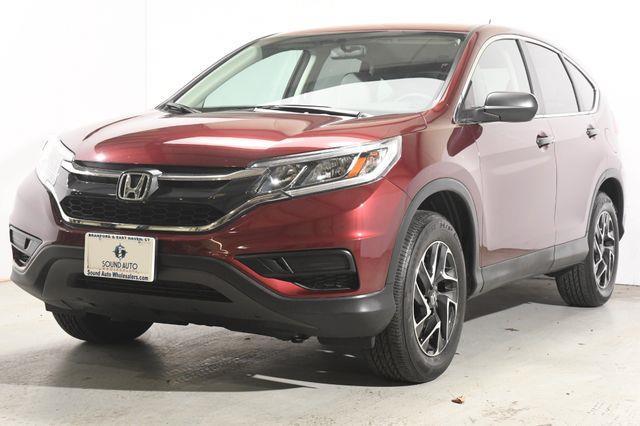 The 2016 Honda CR-V SE photos