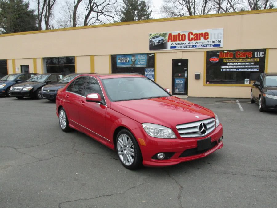 Used Mercedes-Benz C-Class 4dr Sdn 3.0L Sport 4MATIC 2008 | Auto Care Motors. Vernon , Connecticut