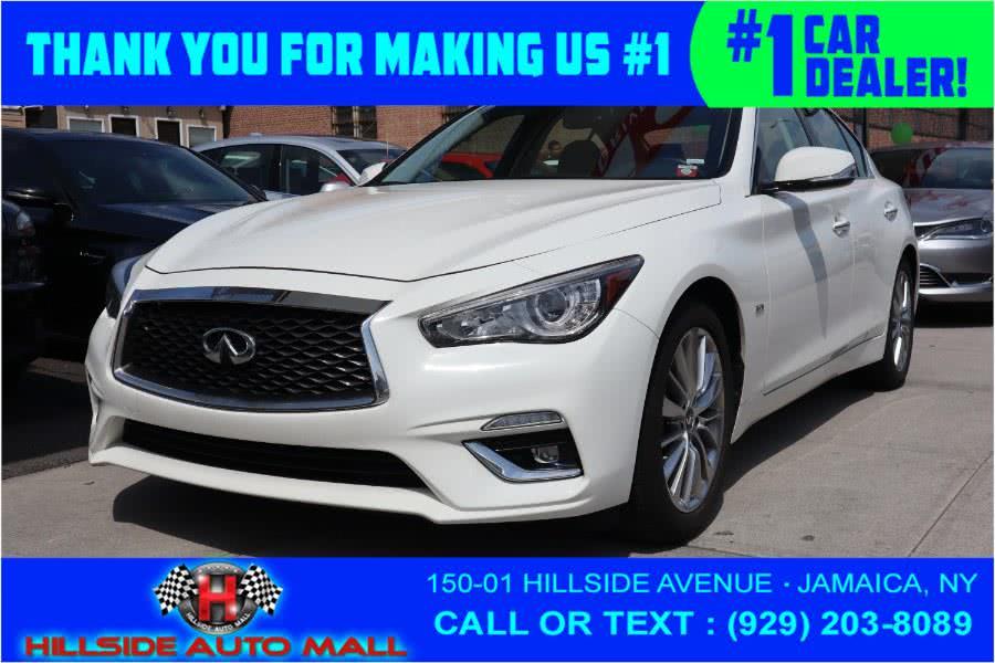 Used INFINITI Q50 3.0t LUXE RWD 2018   Hillside Auto Mall Inc.. Jamaica, New York