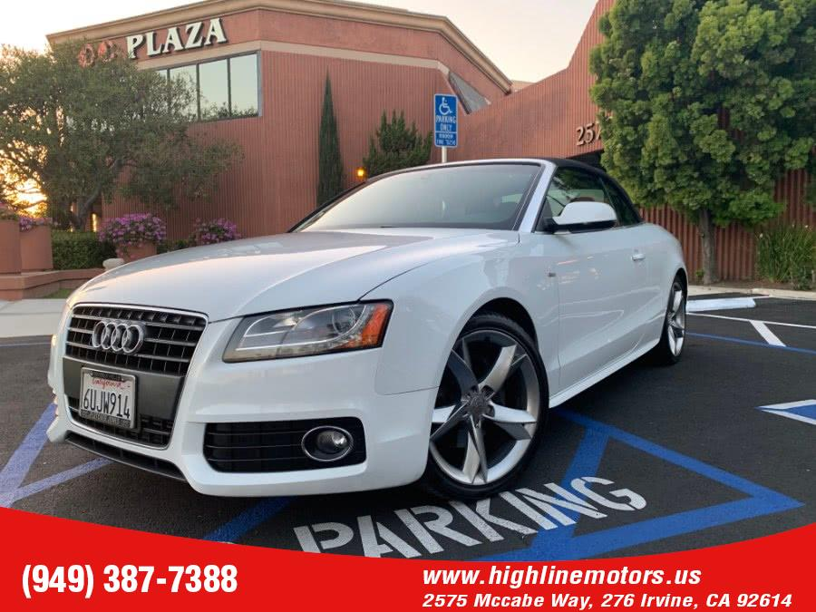Used 2012 Audi A5 in Irvine, California | High Line Motors LLC. Irvine, California