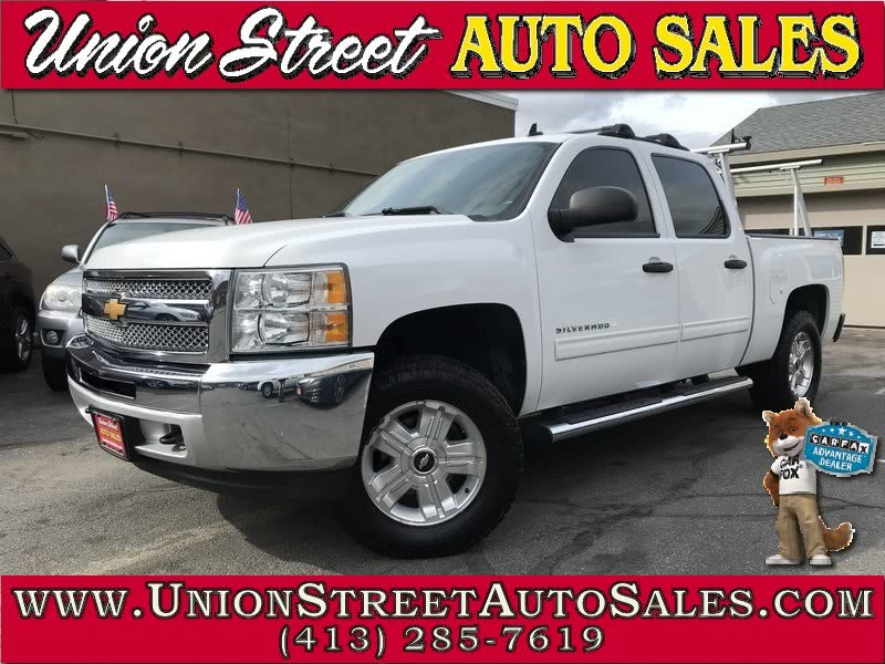 """2013 Chevrolet Silverado 1500 4WD Crew Cab 143.5"""" LT, available for sale in West Springfield, MA"""