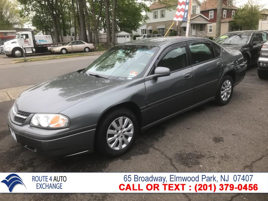 Used Chevrolet Impala 4dr Base Sdn 2005 | Route 4 Auto Exchange. Elmwood Park, New Jersey