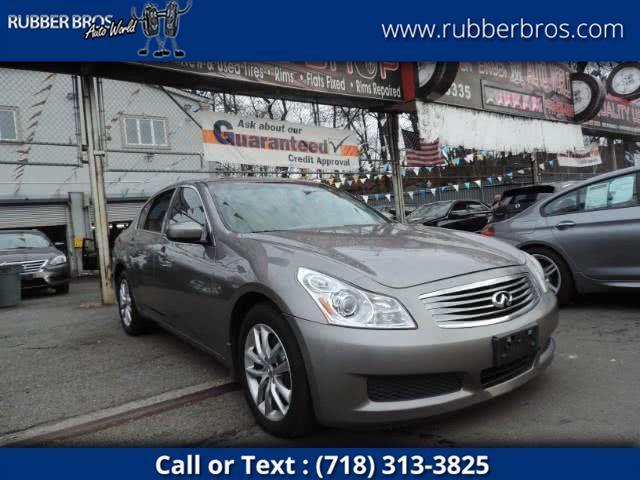 Used Infiniti G37 Sedan 4dr x AWD 2009 | Rubber Bros Auto World. Brooklyn, New York