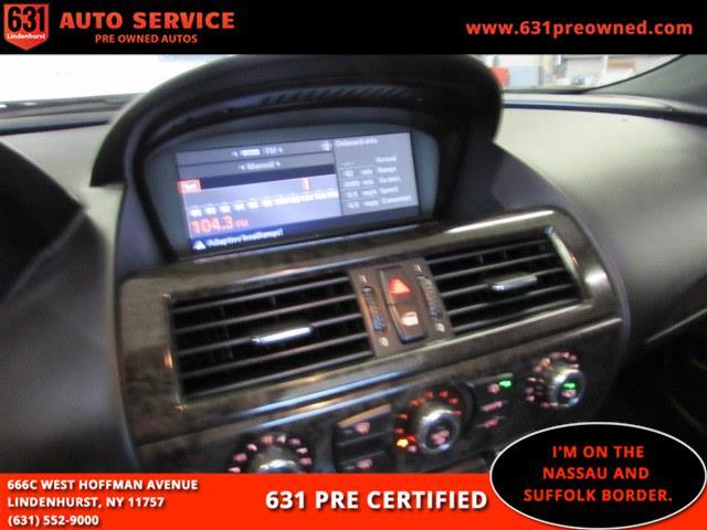Used BMW 6 Series 2dr Cpe 650i 2009   631 Auto Service. Lindenhurst, New York