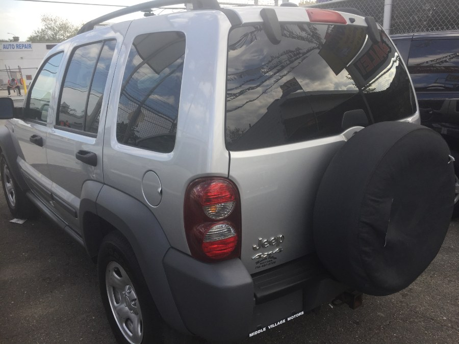Used Jeep Liberty 4dr Sport 4WD 2005   Middle Village Motors . Middle Village, New York