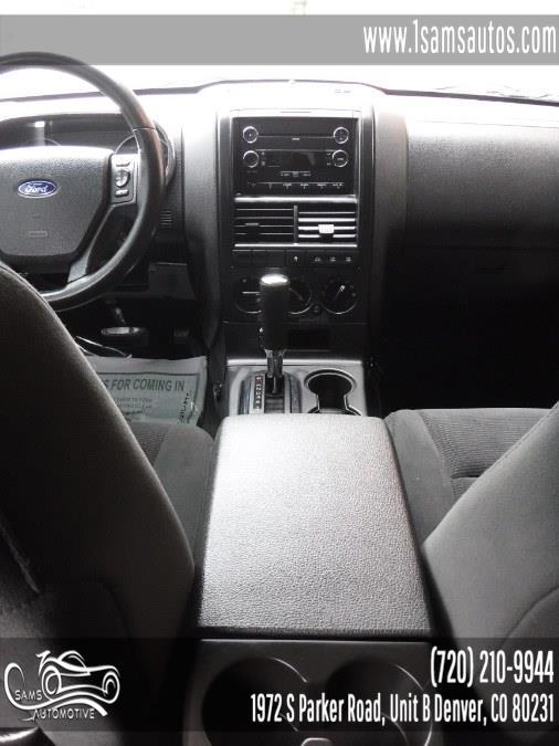Used Ford Explorer 4WD 4dr XLT 2010   Sam's Automotive. Denver, Colorado