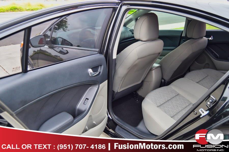 Used Kia Forte 4dr Sdn Auto LX 2016   Fusion Motors Inc. Moreno Valley, California