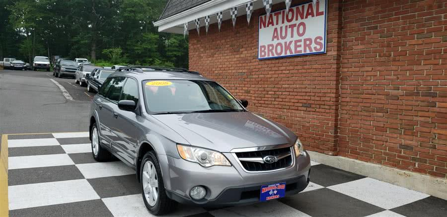 Used Subaru Outback 4dr Auto 2.5i PZEV 2008 | National Auto Brokers, Inc.. Waterbury, Connecticut