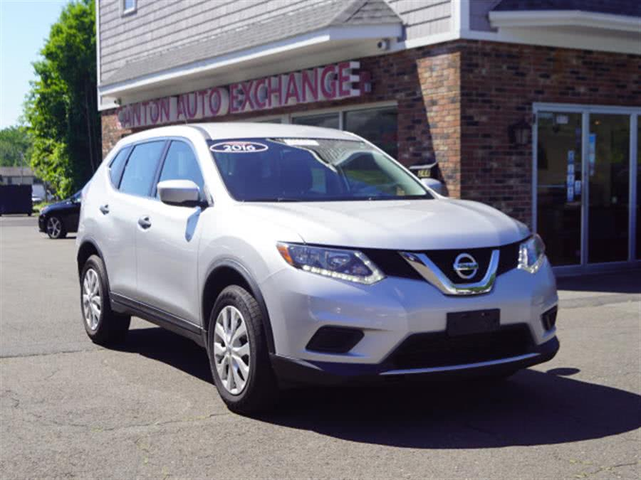 Used Nissan Rogue S 2016 | Canton Auto Exchange. Canton, Connecticut