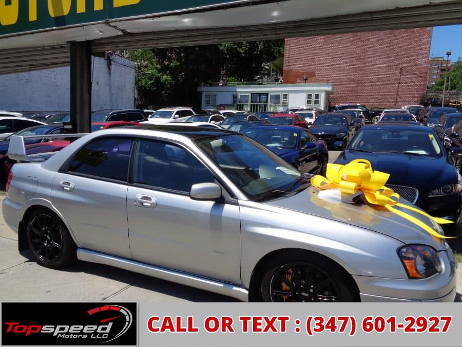 Used Subaru Impreza Sti Sedan 2005 | Top Speed Motors LLC. Jamaica, New York