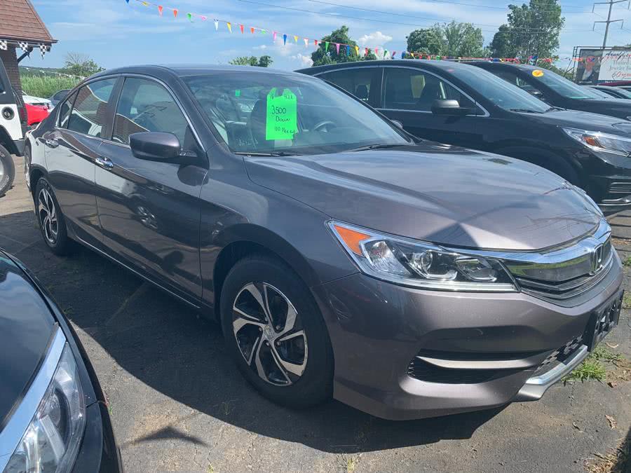 Used Honda Accord Sedan 4dr I4 CVT LX 2016 | 5M Motor Corp. Hamden, Connecticut
