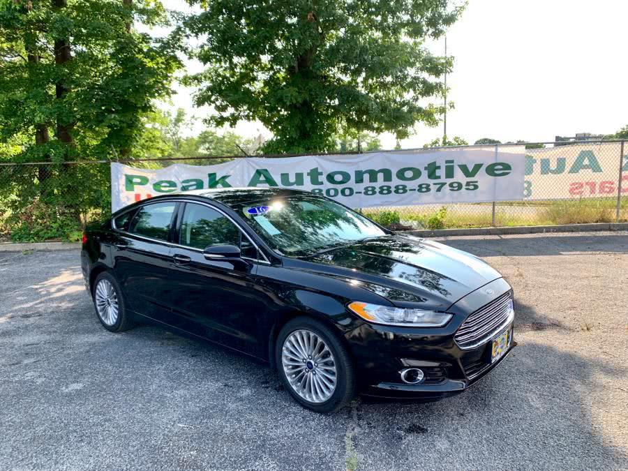 Used Ford Fusion 4dr Sdn Titanium FWD 2016 | Peak Automotive Inc.. Bayshore, New York