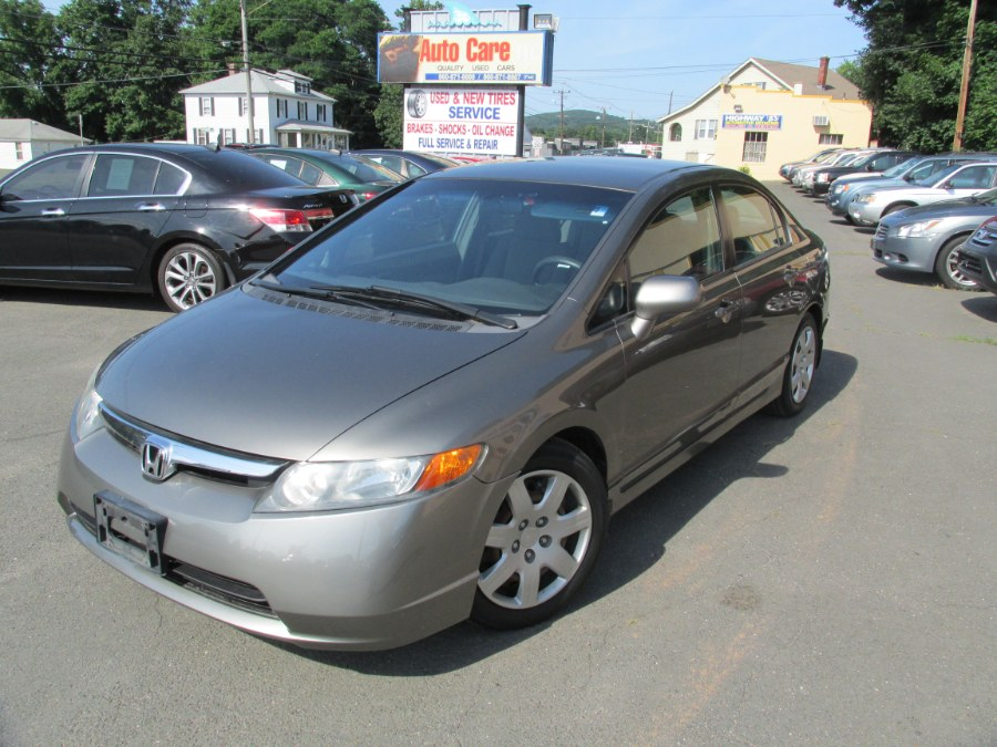 Used Honda Civic Sdn 4dr AT LX 2007   Auto Care Motors. Vernon , Connecticut