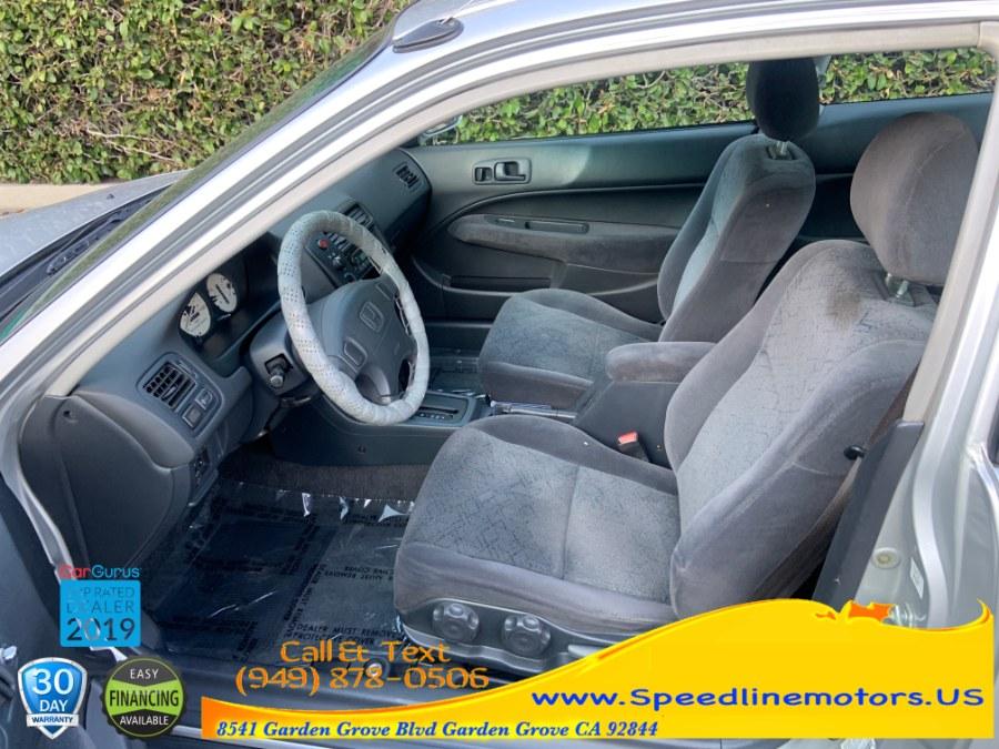 Used Honda Civic 2dr Cpe EX Auto 2000   Speedline Motors. Garden Grove, California