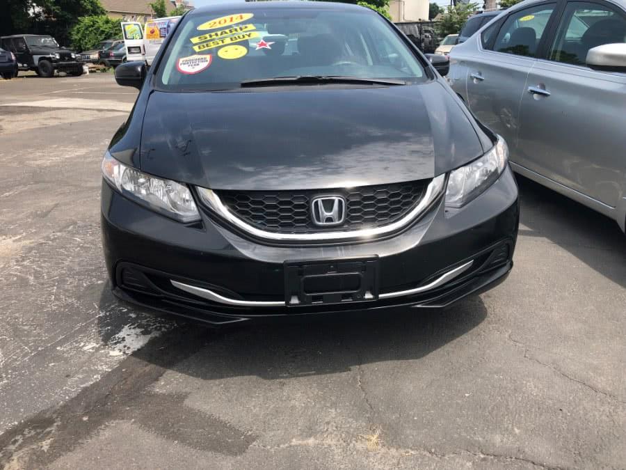 Used 2014 Honda Civic Sedan in Bridgeport, Connecticut | Affordable Motors Inc. Bridgeport, Connecticut