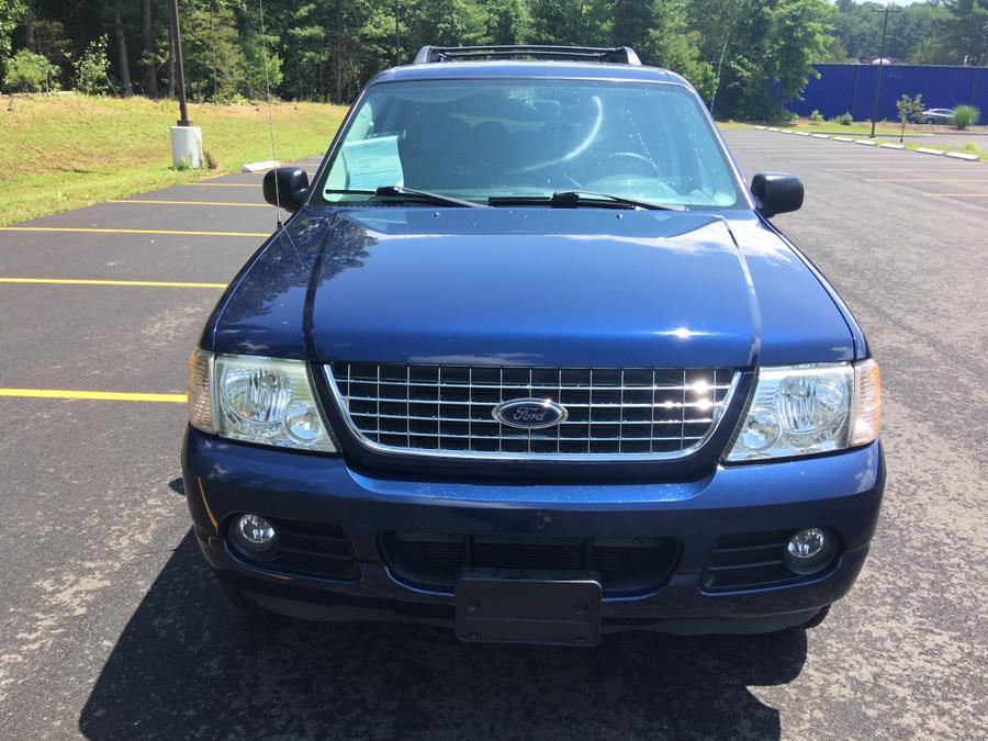 """Used Ford Explorer 4dr 114"""" WB 4.0L XLT Sport 4WD 2005   Farmington Auto Park LLC. Plainville, Connecticut"""