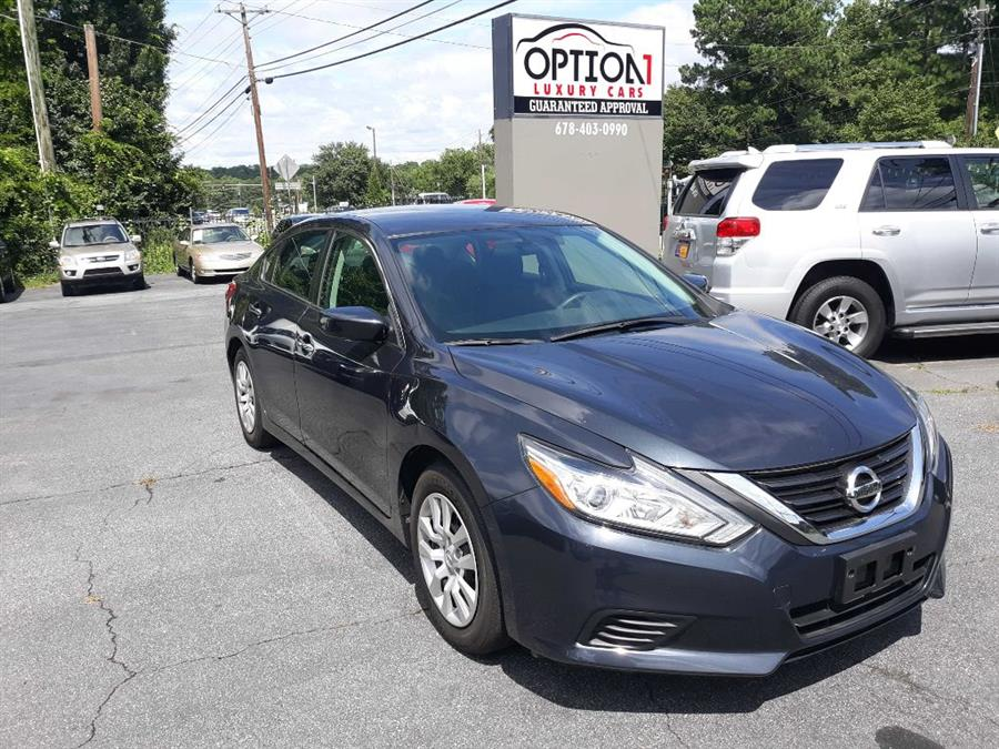 The 2016 Nissan Altima 2.5