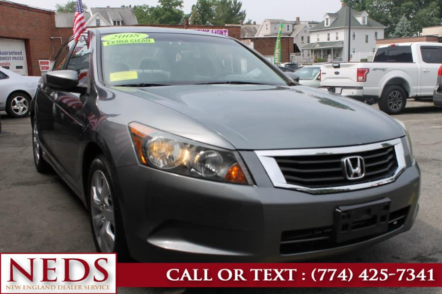 Used 2008 Honda Accord Sdn in Indian Orchard, Massachusetts | New England Dealer Services. Indian Orchard, Massachusetts