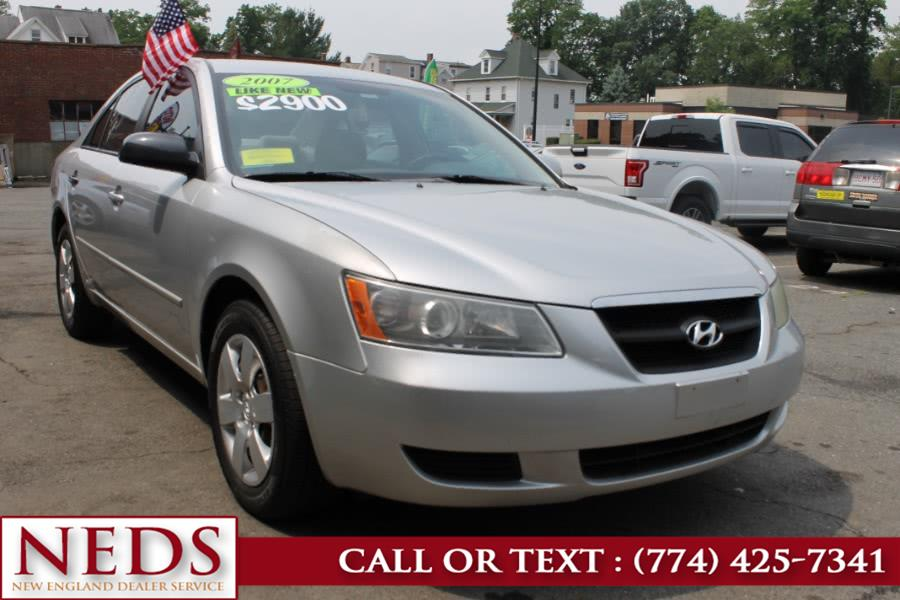 Used 2007 Hyundai Sonata in Indian Orchard, Massachusetts | New England Dealer Services. Indian Orchard, Massachusetts