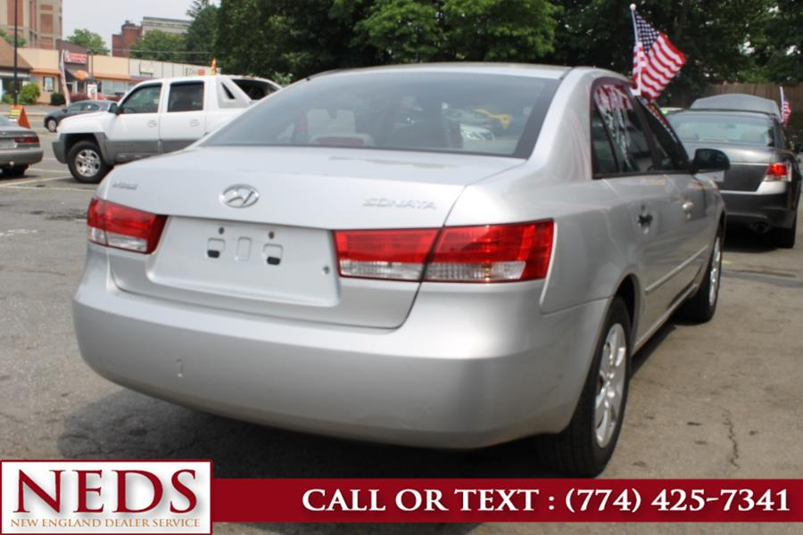 Used Hyundai Sonata 4dr Sdn Auto GLS *Ltd Avail* 2007 | New England Dealer Services. Indian Orchard, Massachusetts