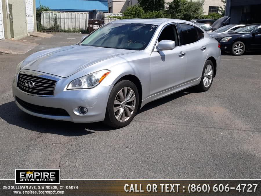 Used INFINITI M56 4dr Sdn AWD 2012 | Empire Auto Wholesalers. S.Windsor, Connecticut