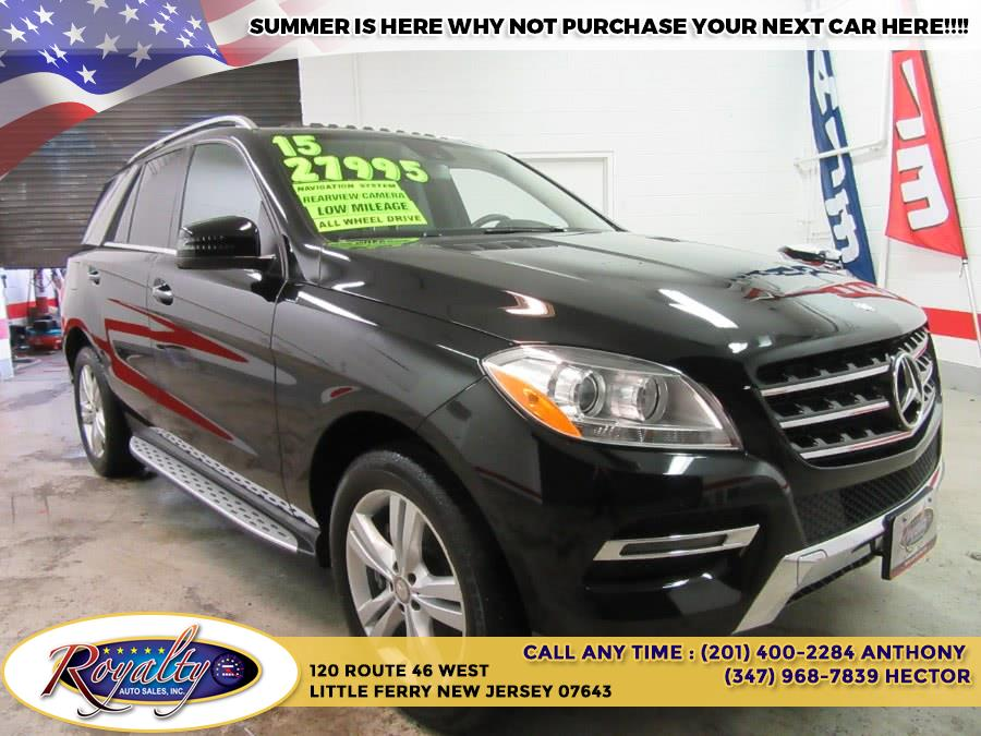 Used Mercedes-Benz M-Class 4MATIC 4dr ML350 2015   Royalty Auto Sales. Little Ferry, New Jersey