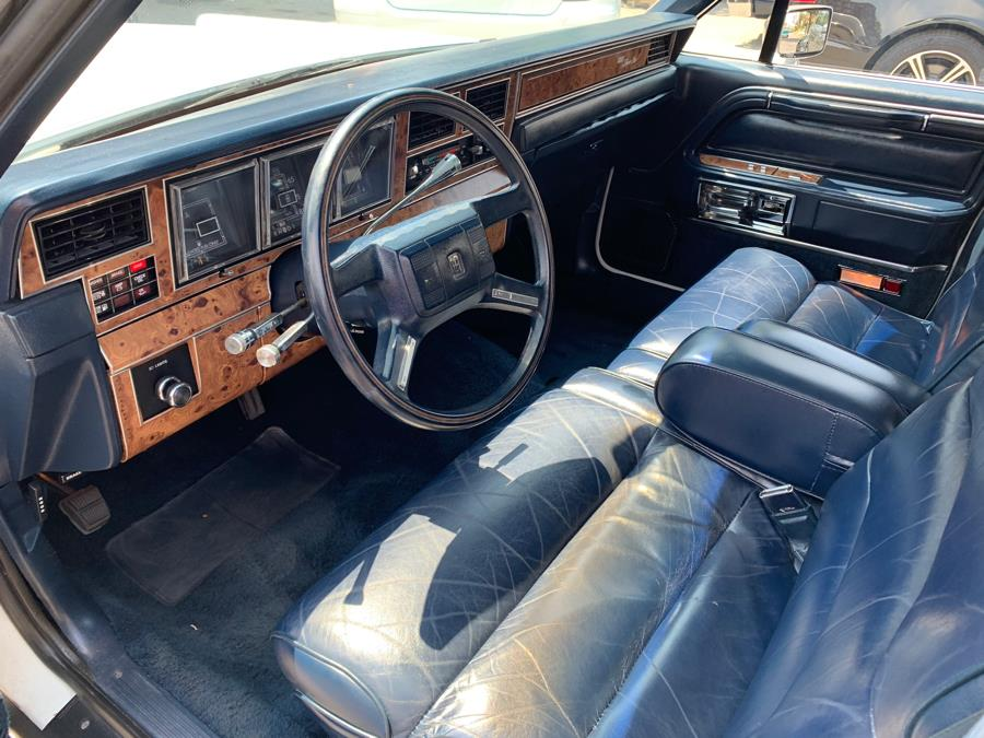 Used Lincoln Town Car 4dr Sedan 1987   Central Auto Sales & Service. New Britain, Connecticut